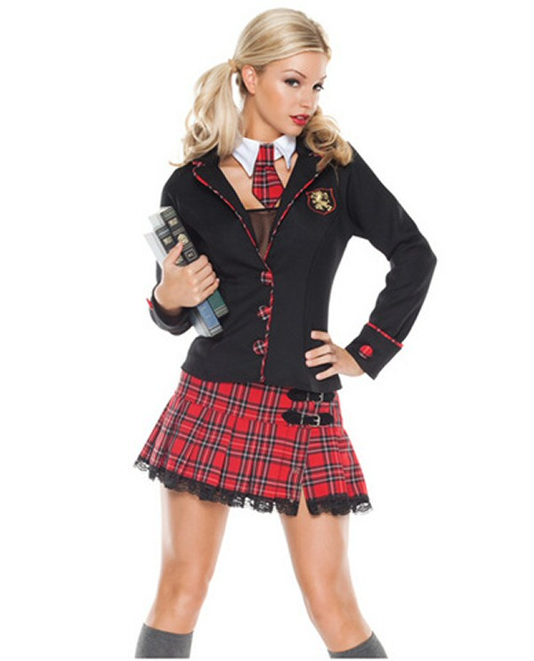 Seductive School Girl outfit